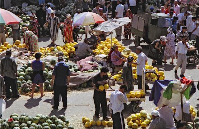 Ouzbékistan, Kokand, © L. Gigout, 1999