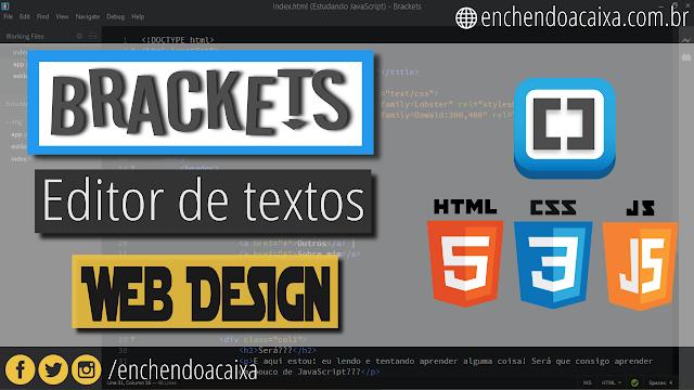 Brackets – Editor de texto para Web Designers