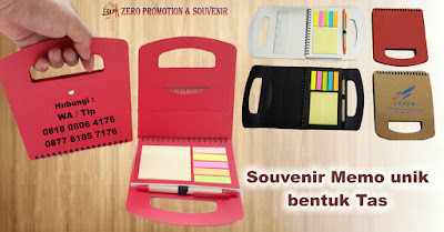 Mini bag note, notes daur ulang, memo bentuk tas, Memo Notes Post-It Pen, notebook stickynote logo, notebook murah bisa logo, memo promosi logo, notebook kantor logo, notebook hotel murah
