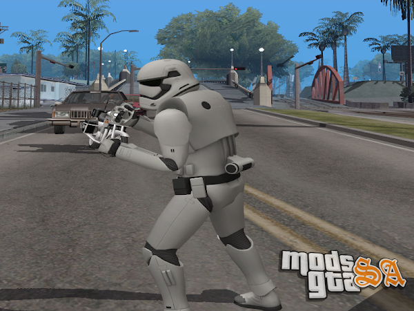 Skin Stormtrooper do Star Wars Episódio 7 para GTA San Andreas