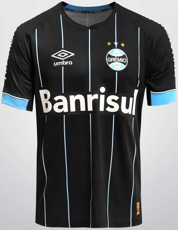 Umbro lança quarta camisa do Grêmio - Show de Camisas 6571995211967