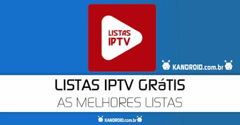 Listas IPTV Grátis APK - As Melhores Listas GRÁTIS