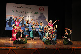Nrityanjali – A School of Odissi celebrated & promoted Indian Classical Dance Forms & Culture at the Nrityangana Festival