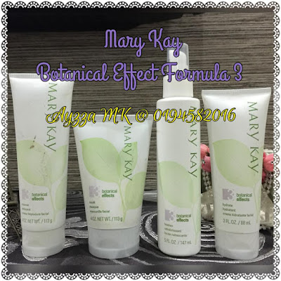 Mary kay Botanical Effect formula 3