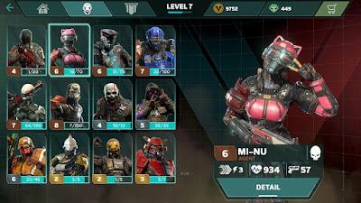 Tampilan Game Modern Combat Versus