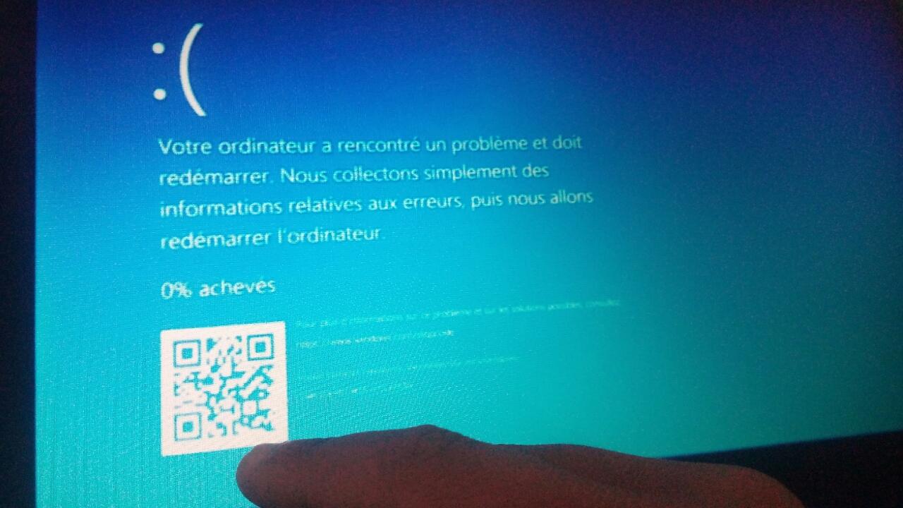 كيفية حل مشكلة الشاشة الزرقاء في ثواني