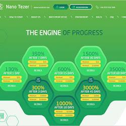 Nano Tezer: обзор и отзывы о nanotezer.com (HYIP платит)