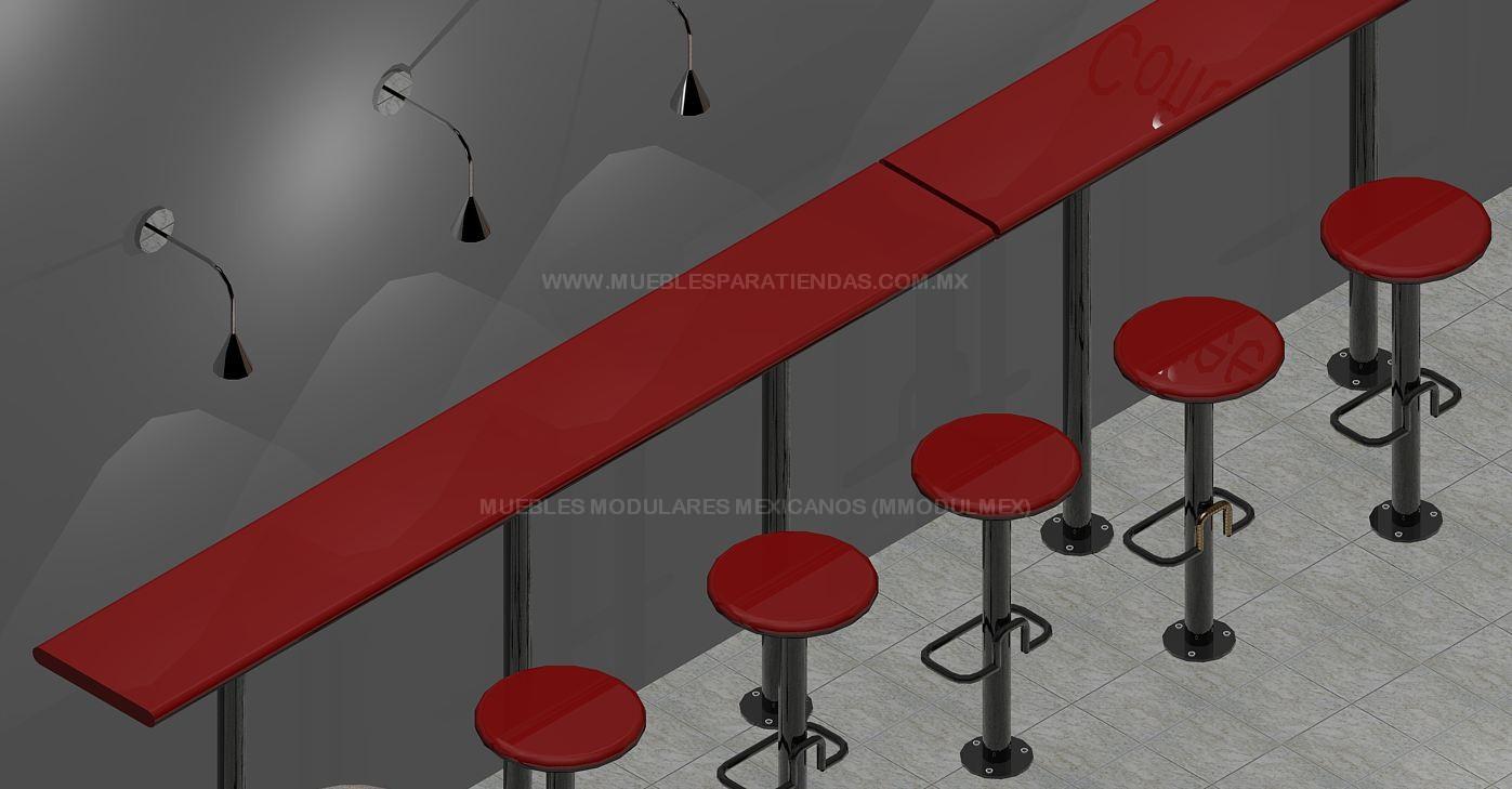 Mostradores de tiendas vitrinas para farmacias muebles for Tiendas de muebles para restaurantes