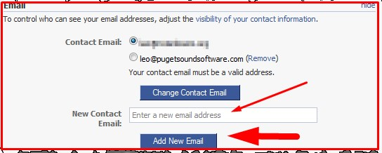 how to change your email on facebook without deleting it