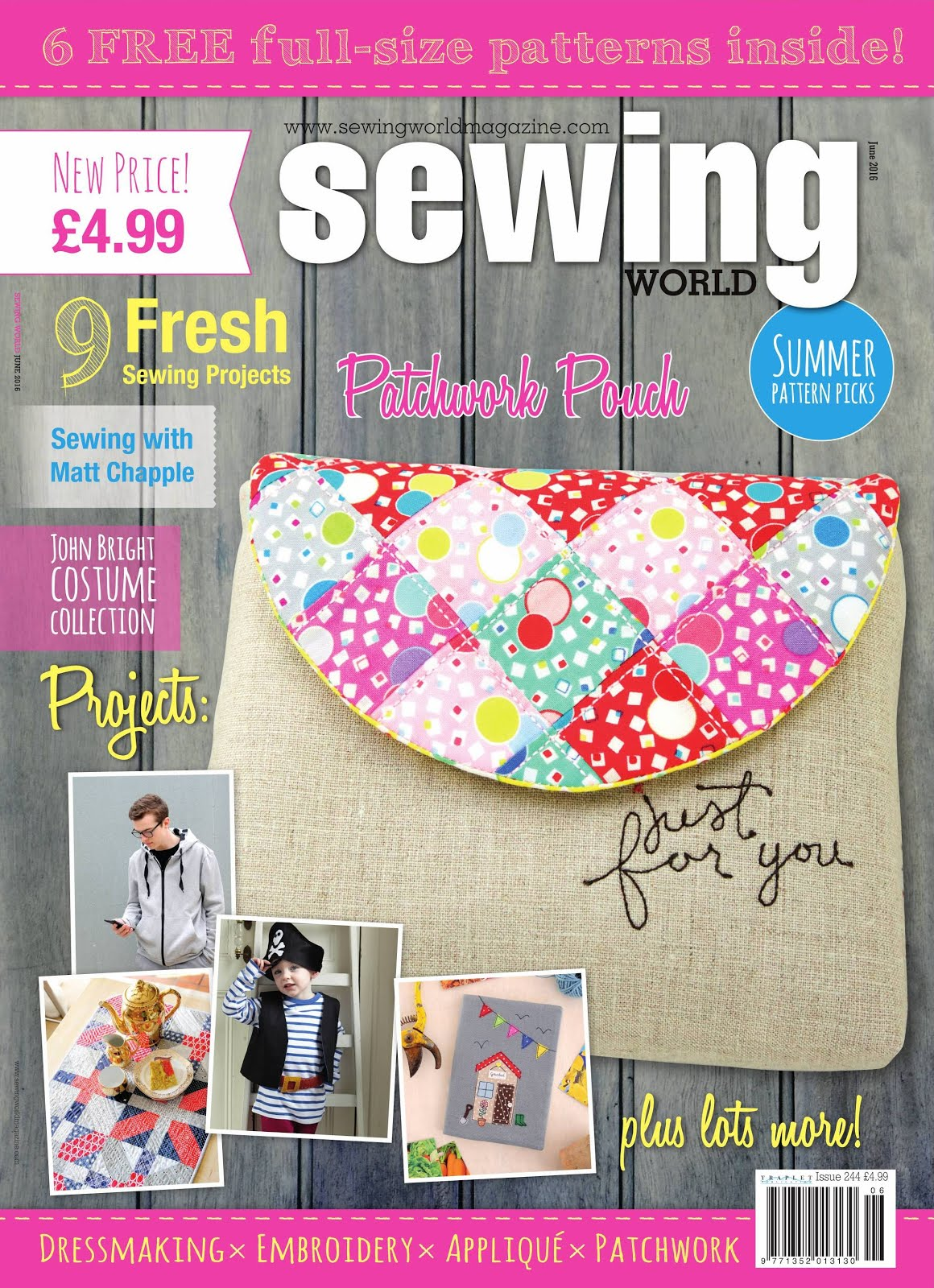 Sewing World June 2016