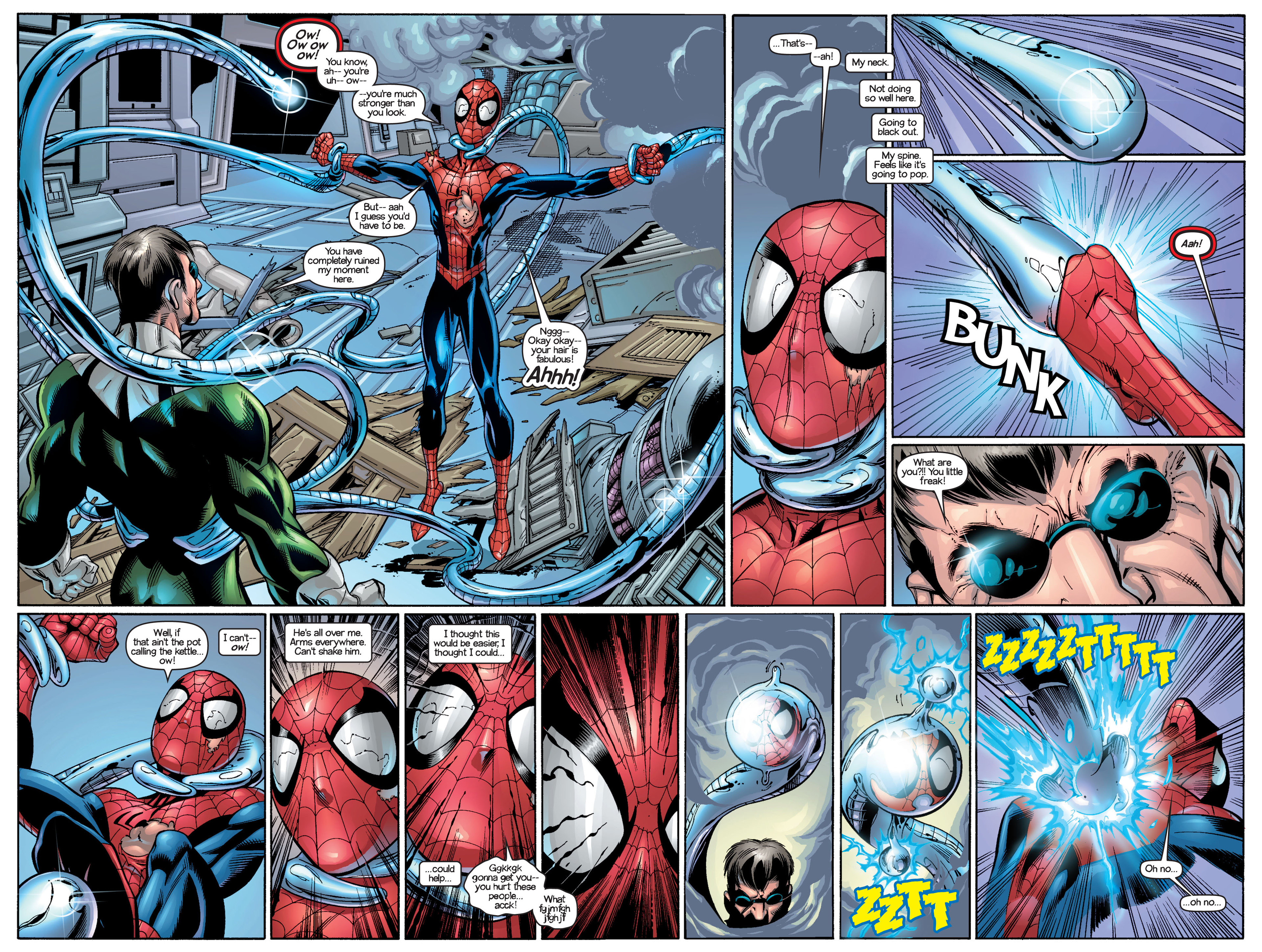 Read online Ultimate Spider-Man (2000) comic -  Issue #18 - 7
