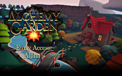 Alchemy Garden (Version Alpha) - Jeu de Simulation sur PC