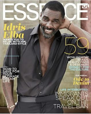 Idris Elba Covers August edition of Essence Magazine