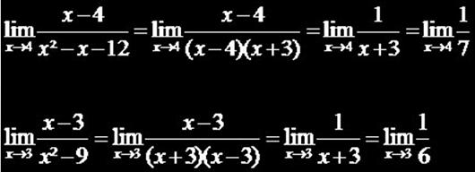 Limite-de-uma-Função-Formas-indeterminadas
