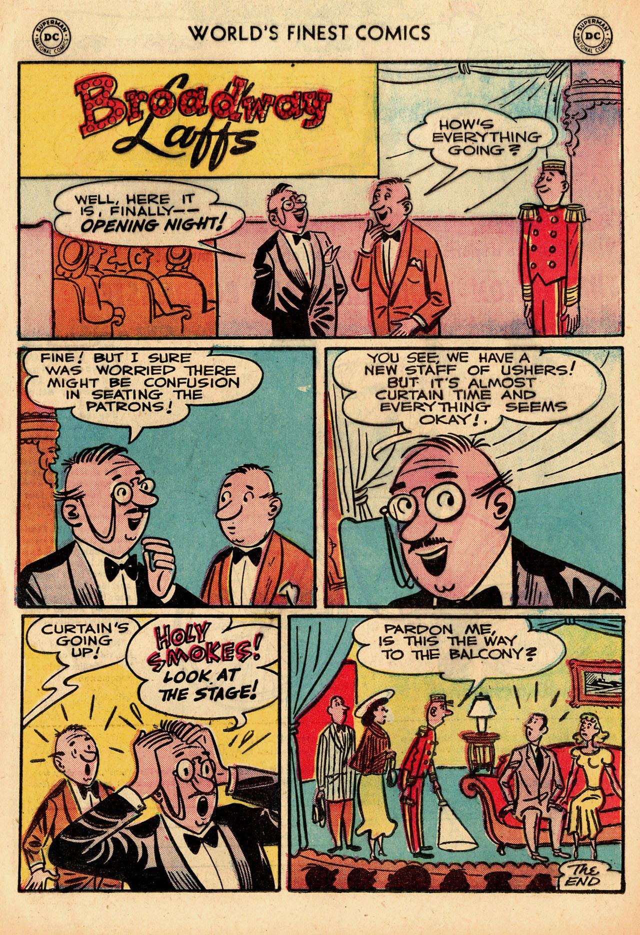 Read online World's Finest Comics comic -  Issue #91 - 16