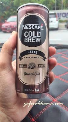 Nescafe Cold Brew, new Nescafe, review Nescafe Cold Brew, sedap tak Nescafe Cold Brew, kat mana nak cari Nescafe Cold Brew, 7Eleven malaysia, kedai runcit, supermarket, coffee lover, coffee addict,
