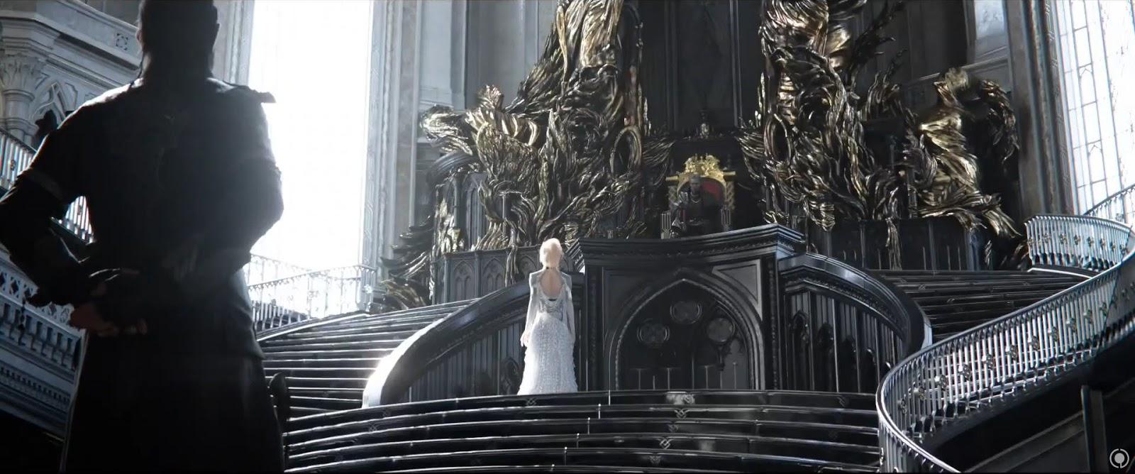 Final fantasy xv cgi movie kingsglaive trailer cg daily for Final fantasy 8 architecture