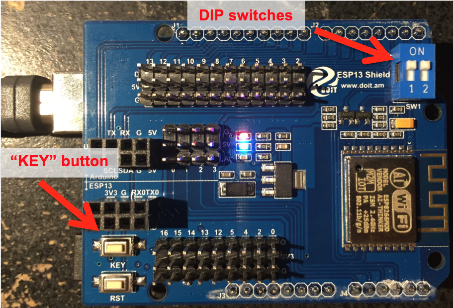 I wish I had known that: Getting the ESP-13 Arduino WiFi