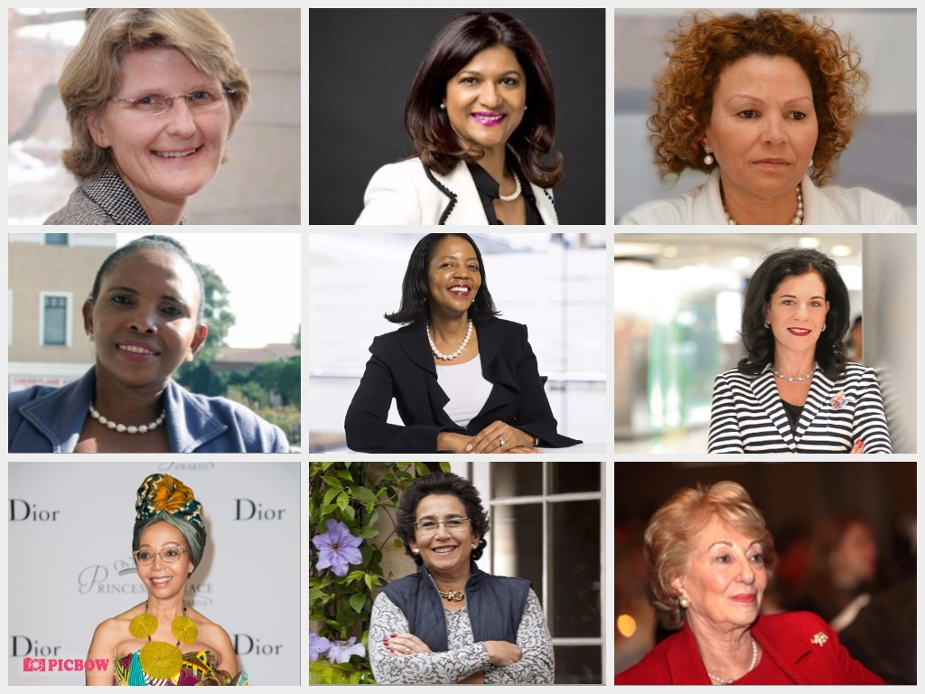 Top Ten Richest Women In South Africa! The numbers are in and these women  are the real bosses with crazy net worth's behind their names.