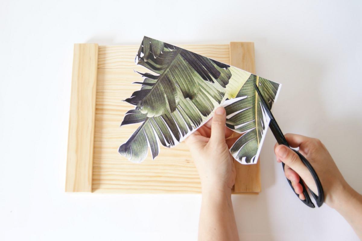 paso a paso para hacer transfer en madera