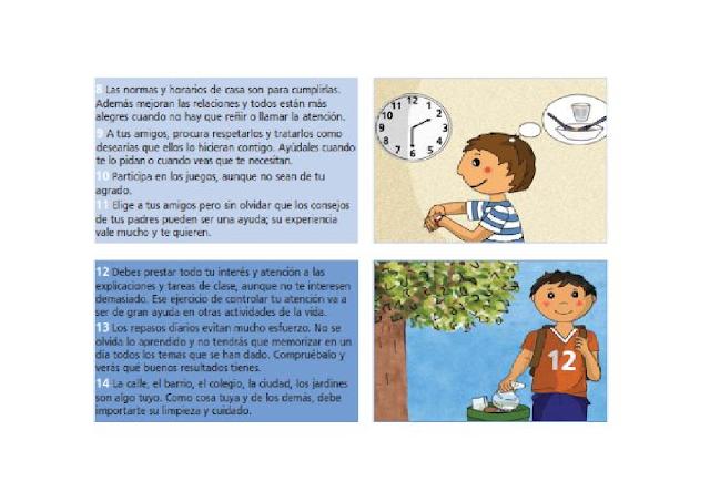 alumnos,primaria,preescolar,secundaria,conductas,responsabilidad,valores