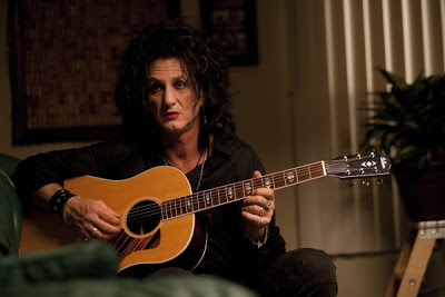 Sean Penn as burned out Goth rock star Cheyenne in This Must Be the Place, Directed by  in Paolo Sorrentino