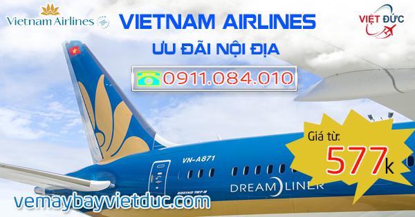 Khuyến mãi thứ 3 Vietnam Airlines mới nhất ngày 28/11/2017