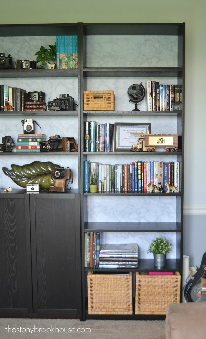 Bookcase left side