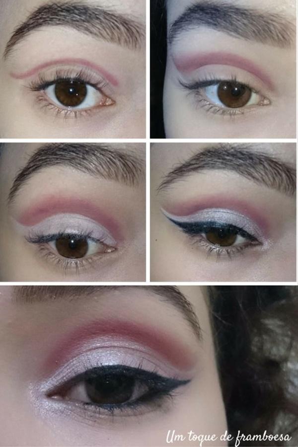 maquiagem para a noite passo a passo cut crease