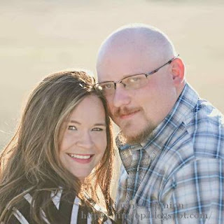 Our son Randy and his fiancee Dawn in their engagement picture