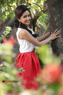 Actress Mahima Nambiar Latest Stills in White Top and Red Skirt at Kuttram 23 Movie Press Meet  0021.jpg