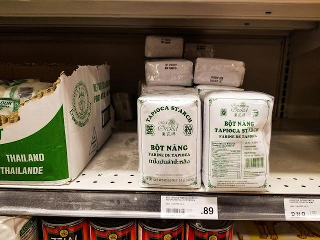 Farinha de tapioca no Canadá