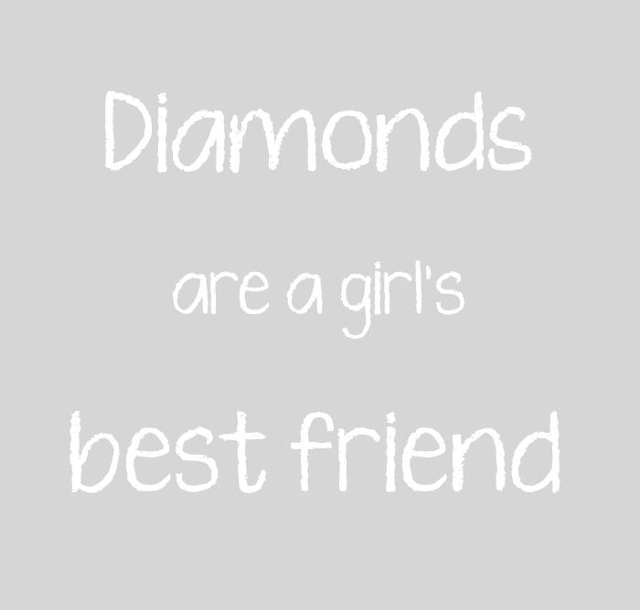 diamonds girl best friend