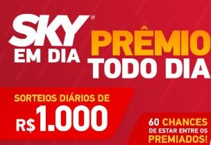 Cadastrar Promoção Sky 2017 Prêmio Todo Dia