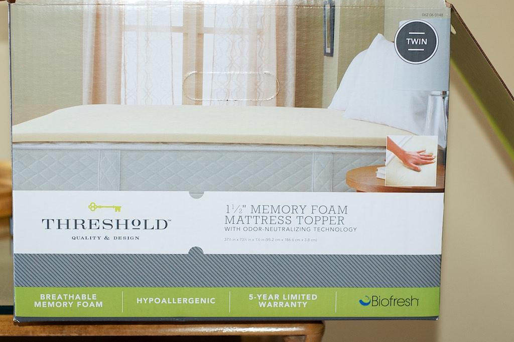 threshold memory foam mattress topper Alonna Shaw: Mattress Toppers Support Summer Holiday Comfort threshold memory foam mattress topper