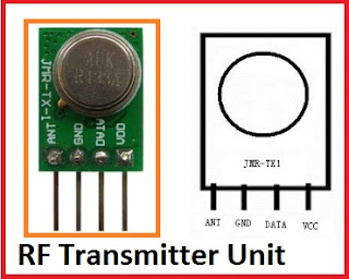RF Module ( Wireless Radio Frequency )Transmitter_Tx