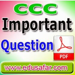 CCC GTU Theory Exam 1000 Question