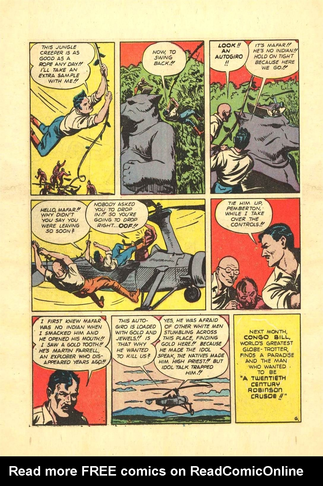 Read online Action Comics (1938) comic -  Issue #54 - 53