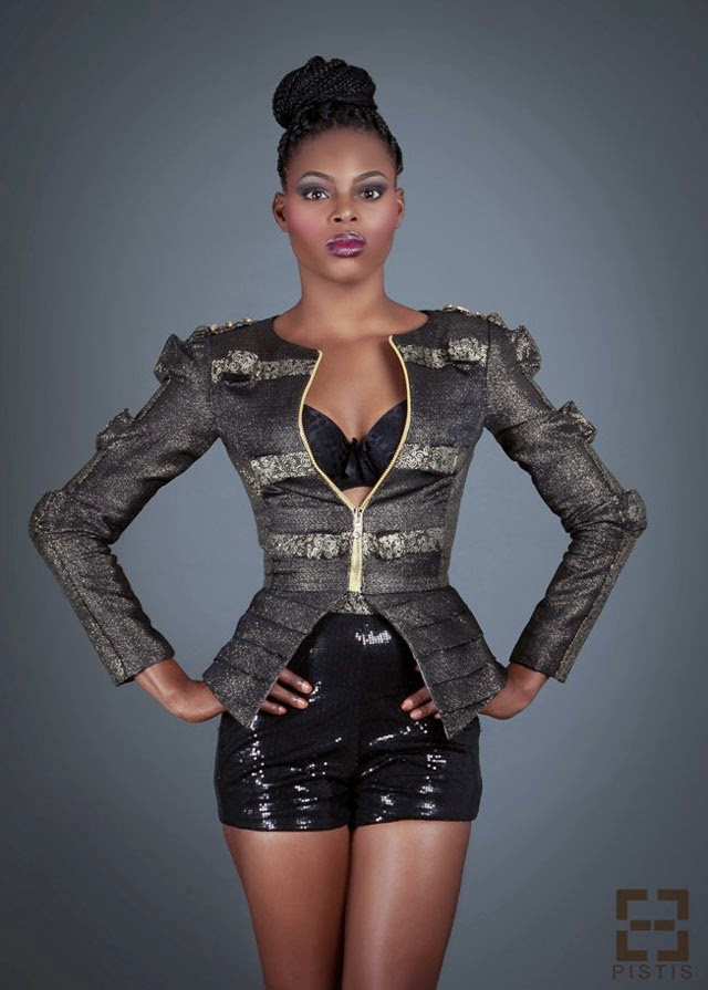 African print fashion dresses from Pistis- Ghanaian  designer  see more on ciaafrique.com #blazer #africanprint