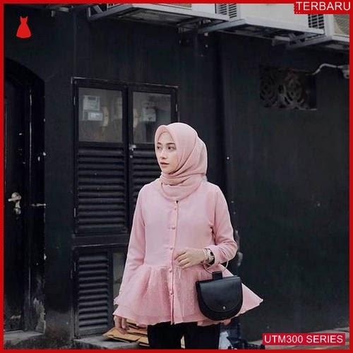 UTM300L58 Baju Linata Muslim Atasan UTM300L58 12C | Terbaru BMGShop