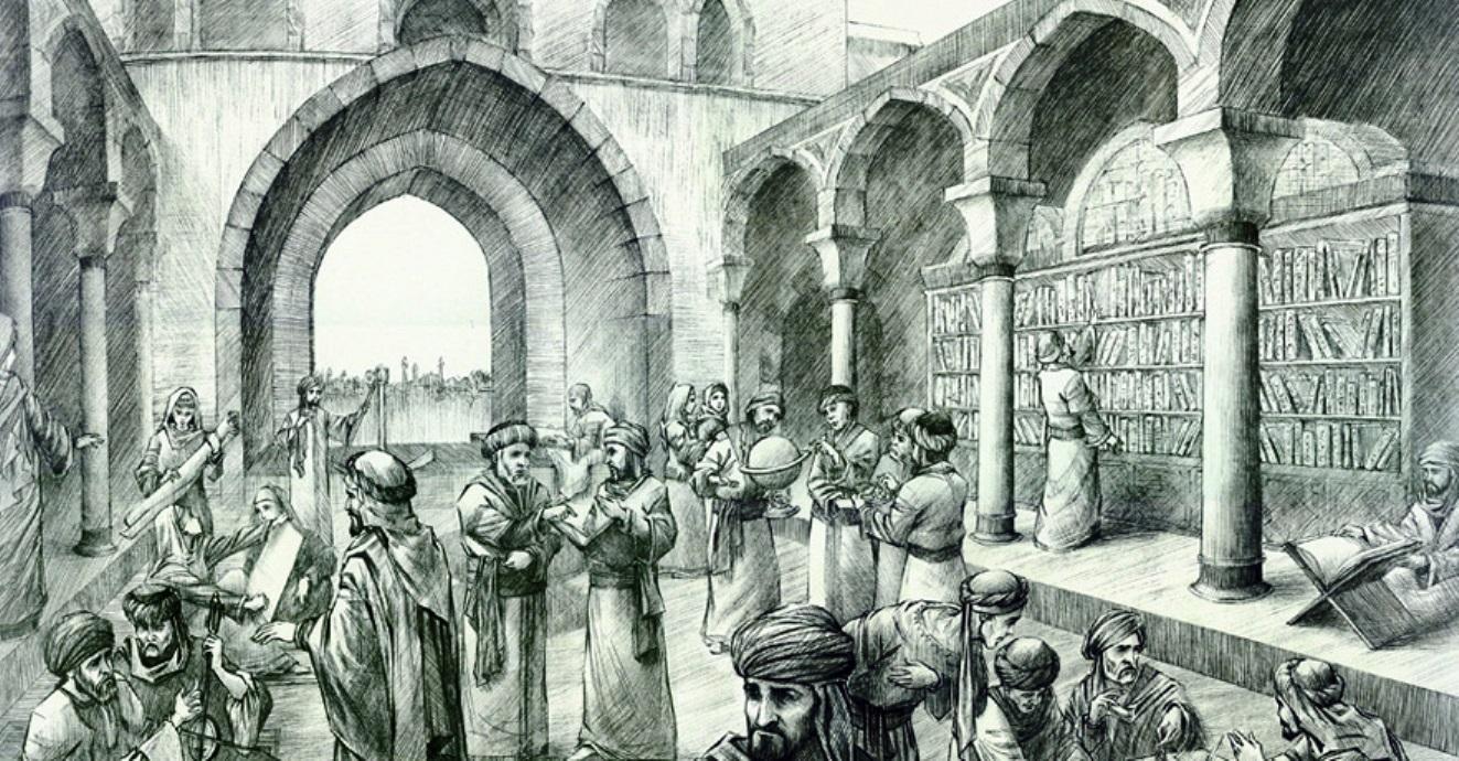Resultado de imagen de El Califa árabe al-Mamun hizo construir la ciudad de la Sabiduría