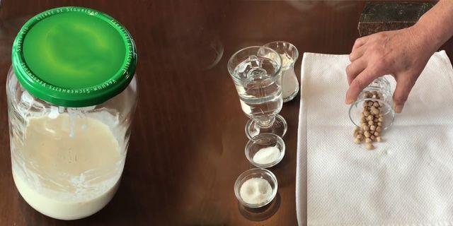 kolay nohut mayası tarifi, nohut mayası neden tutmaz, KahveKafeNet