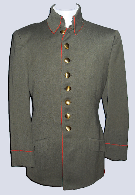 "WWI military jacket worn by Franchot Tone in ""Three Comrades"" 1938"