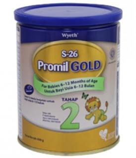 Harga Susu S26 Promil Gold2 Terbaru Bulan Ini