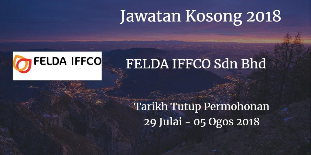 Jawatan Kosong FELDA IFFCO Sdn Bhd 29 Julai - 05 Ogos 2018