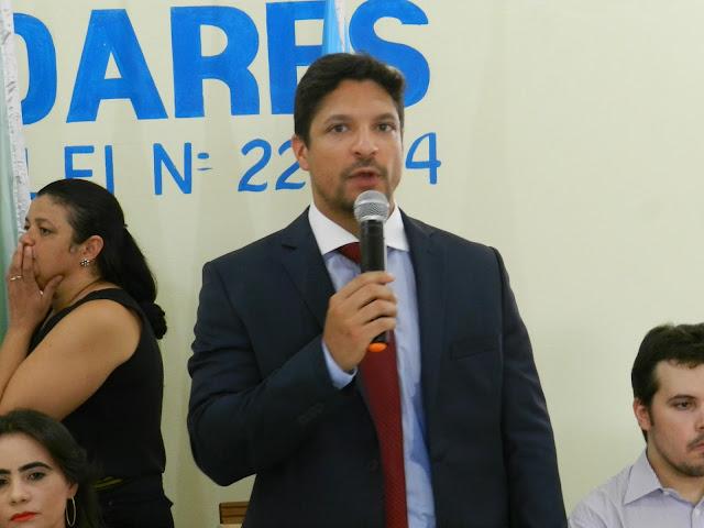 Erlânio Xavier é diplomado prefeito de Igarapé Grande