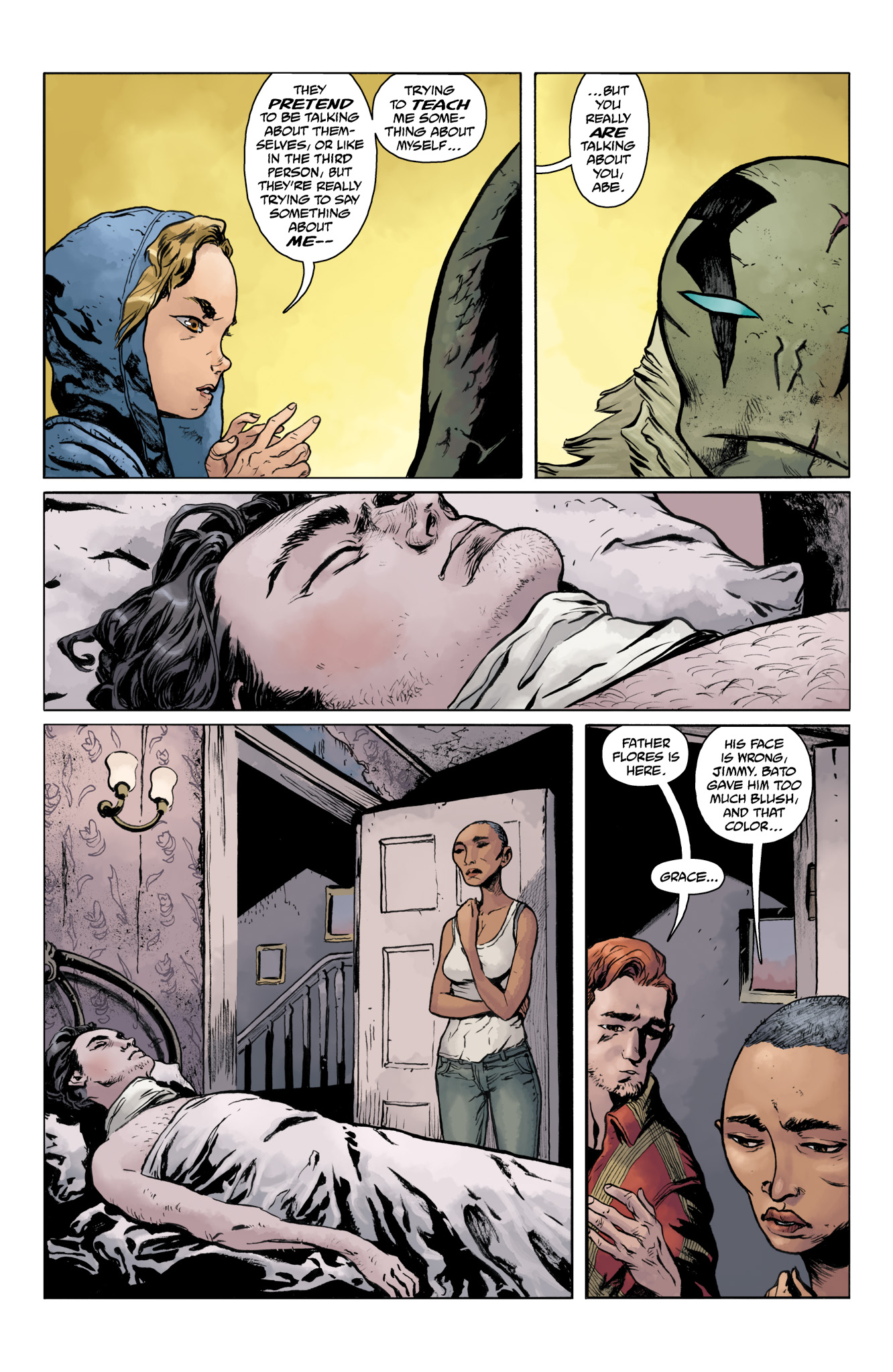 Read online Abe Sapien comic -  Issue #20 - 16