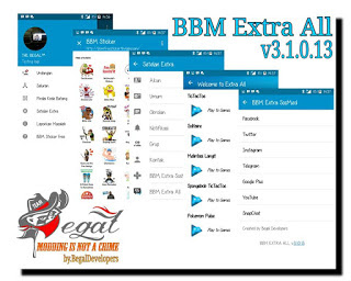 Multi BBM MOD Extra All v3.1.0.13 Apk Terbaru Update 2016