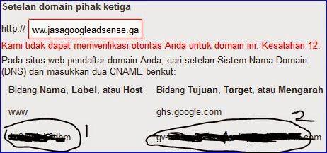 cara setting dns domain freenom
