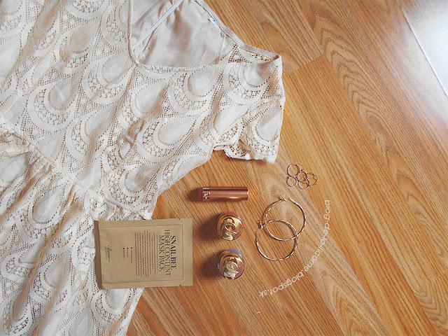 White Lace Summer Vintage Dress